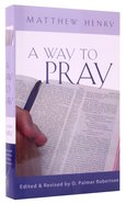 A Way to Pray Hardback