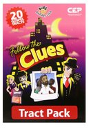 Follow the Clues (Tract - 20 Pack) (Kids @ Club Series) Pack