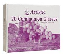 Communion Cups Glass (Box Of 20)