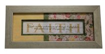 Keepsake Mdf Framed Art: Faith