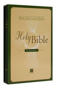 New Jerusalem Bible Standard Black With Slipcase