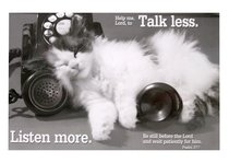 Poster Small: Talk Less Listen More