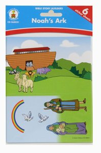 Bible Story Builders: Noahs Ark Stickers