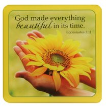 Meaningful Magnet: Yellow Sun Flower