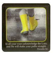 Meaningful Magnet: Yellow Gum Boots