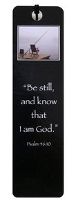 Bookmark Black & White: Chair on Pier, Psalm 46:10