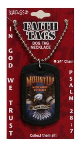 Faith Dog Tag Mount Up