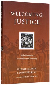Welcoming Justice (Resources For Reconciliation Series)