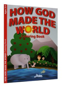 How God Made the World (Ages 2-5, Reproducible) (Warner Press Colouring/activity Under 5s Series)