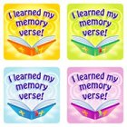 Sticker Pack: I Learned My Memory Verse Novelty