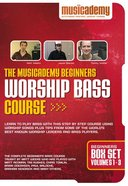 Musicademy: Beginners Worship Bass Course Box Set (Volumes 1-3) DVD