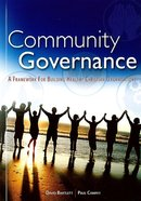 Community Governance Paperback