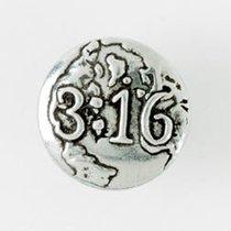 Lapel Pin:3:16 Pewter Pin (100% Lead Free Pewter)