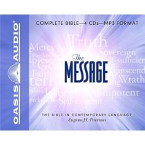 Message Complete Bible on MP3 CD (4 Mp3 Cds)