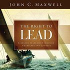 The Right to Lead Hardback