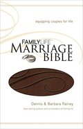 NKJV Family Life Marriage Dark Brown (Black Letter Edition) Premium Imitation Leather