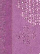 NKJV Study Lavender Indexed Premium Imitation Leather