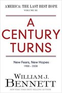 A Century Turns Hardback
