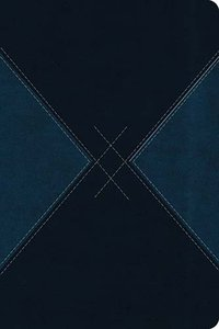 NKJV Ultraslim Navy Blue Argyle