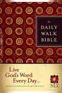 The NLT Daily Walk Bible Paperback
