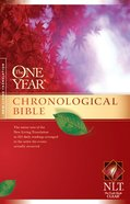 NLT One Year Chronological Bible (2nd Edition)