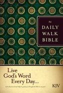 The KJV Daily Walk Bible (Black Letter Edition) Hardback