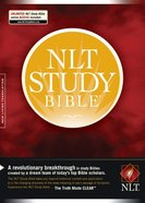 NLT Study Bible Indexed