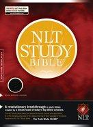 NLT Study Bible Black Bonded Leather