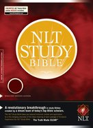 NLT Study Bible Indexed Burgundy Bonded Leather