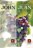 Nlt/Ntv Gospel of John/ Evangelio De Juan Parallel (Black Letter Edition) Paperback