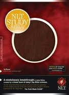 NLT Study Bible Chocolate/Chocolate (Red Letter Edition) Imitation Leather