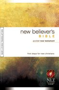 NLT New Believer's Pocket Bible New Testament (30 Pk) Paperback