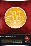 NLT Study Bible Personal Paperback