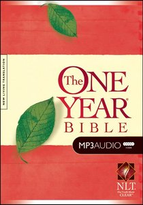 NLT MP3 Audio One Year Bible (5 Mp3s)