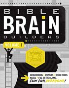 Bible Brain Builders Volume 1 (#01 in Bible Brain Builders Series) Paperback