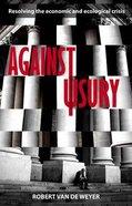 Against Usury Paperback