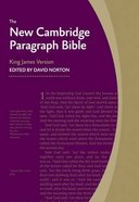 KJV New Cambridge Paragraph Blue Personal Size