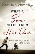 What a Son Needs From His Dad Paperback