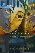 Sacred Witness Hardback