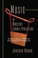 Music in Ancient Israel/Palestine: Paperback