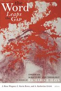 The Word Leaps the Gap Hardback