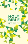 NIV Thinline Bible Soft-Tone Lime Imitation Leather