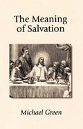 The Meaning of Salvation Paperback