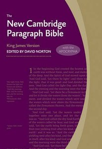 KJV New Cambridge Paragraph Gray Personal Size