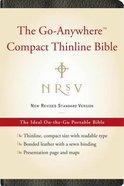 NRSV Go-Anywhere Compact Thinline Bible Black