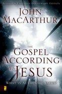 The Gospel According to Jesus Paperback