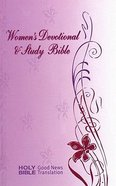 GNB Women's Devotional and Study Bible Hardback