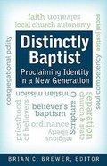 Distinctly Baptist