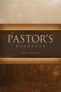 Pastor's Handbook Hardback