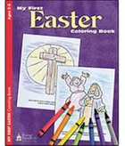 Colouring Book: My First Easter (Ages 2-5, Reproducible) Paperback